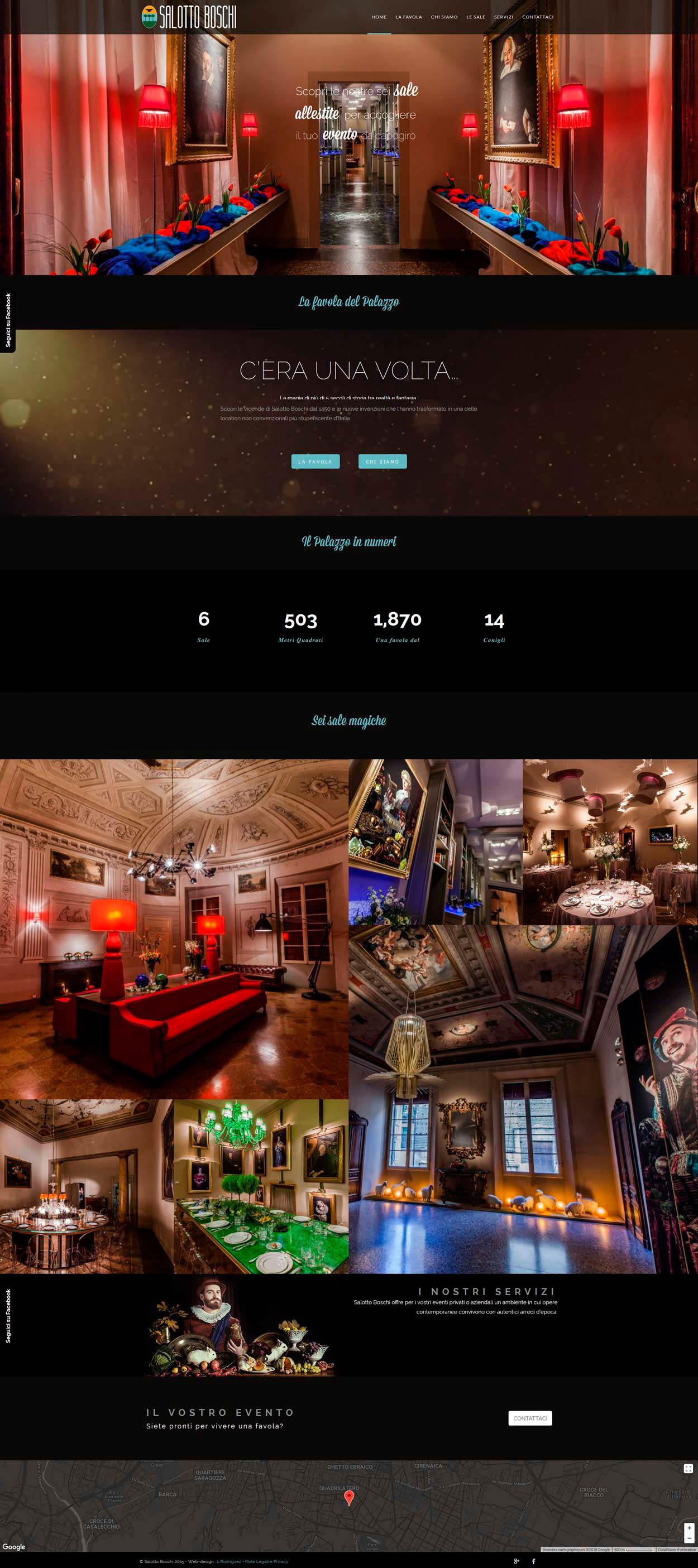 Salotto Boschi Home Page